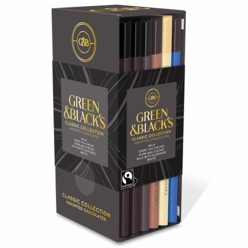 Green & Black's Classic Collection Assorted Chocolates Perspective: front