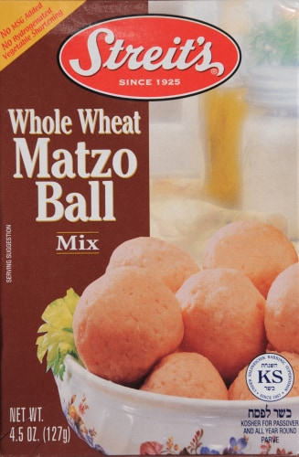 Streits Whole Wheat Matzo Ball Mix Perspective: front