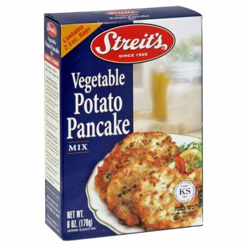Streit's Vegetable Potato Pancake Mix Perspective: front
