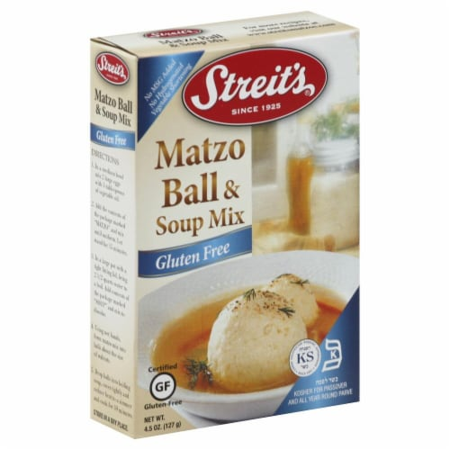 Streit's Matzo Ball & Soup Mix Perspective: front
