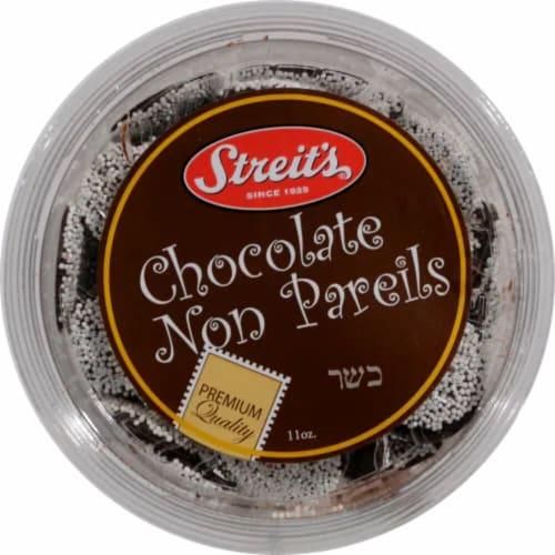 Streit's Chocolate Non Pareils Perspective: front