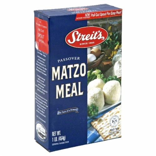 Streit's Matzo Meal Perspective: front