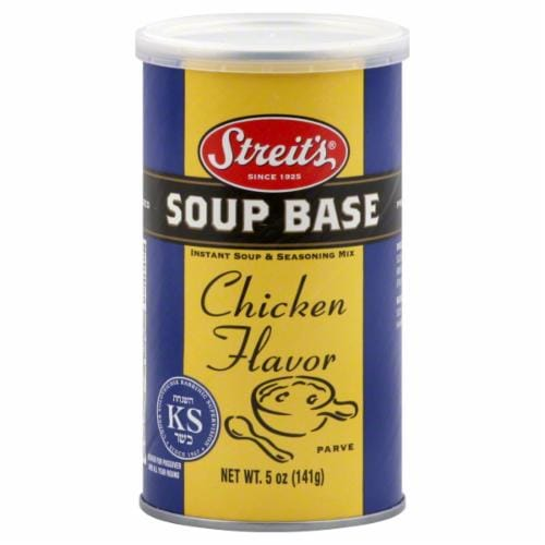 Streit's Chicien Soup Base Perspective: front