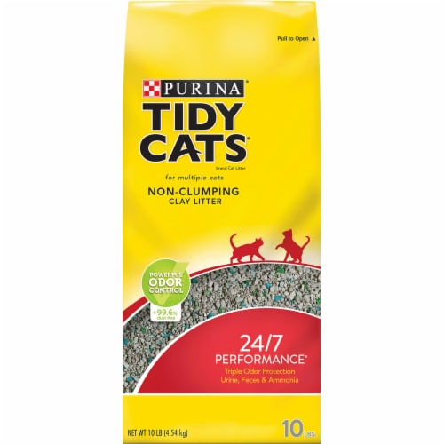 Tidy Cats 24/7 Performance Non Clumping Multi Cat Litter Perspective: front