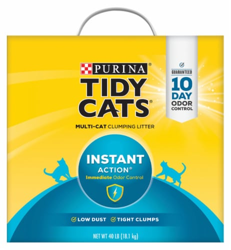 Tidy Cats® Instant Action Multi-Cat Clumping Litter Perspective: front