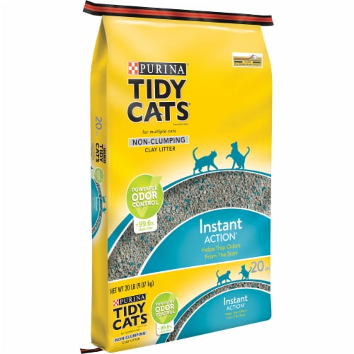 Tidy Cats Instant Action Low Tracking Non Clumping Cat Litter Perspective: front