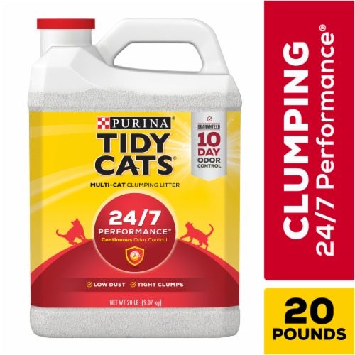 Tidy Cats 24/7 Performance Clumping Multi Cat Litter Perspective: front