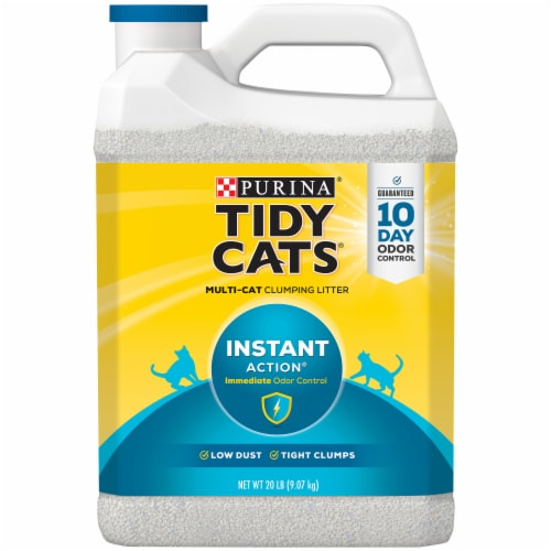 Tidy Cats Instant Action Multi Cat Clumping Litter Perspective: front