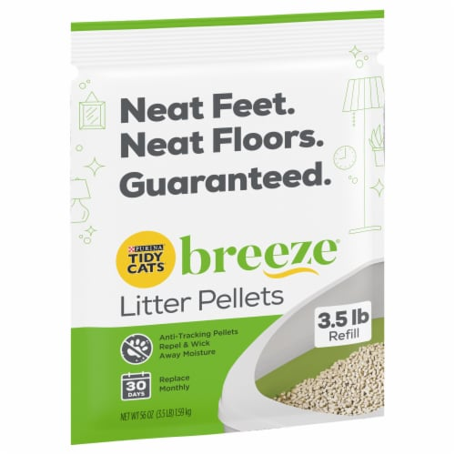 Tidy Cats® BREEZE® Refill Litter Pellets Perspective: front