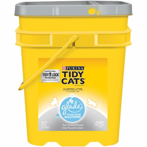Tidy Cats Glade Clear Springs Clumping Multi Cat Litter Perspective: front