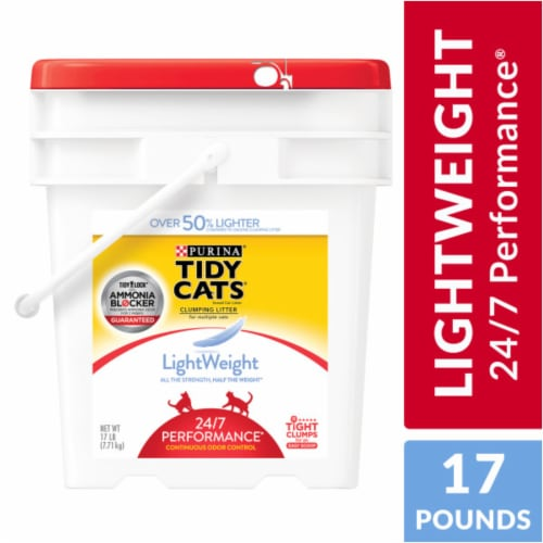 Tidy Cats Light Weight 24/7 Performance Clumping Multi Cat Litter Perspective: front