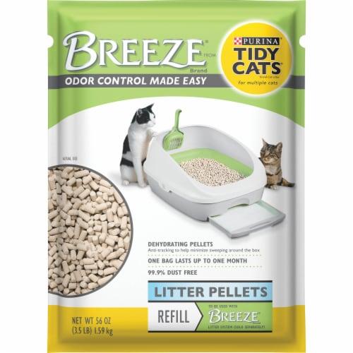 Tidy Cats Breeze Litter Pellets Refill Perspective: front