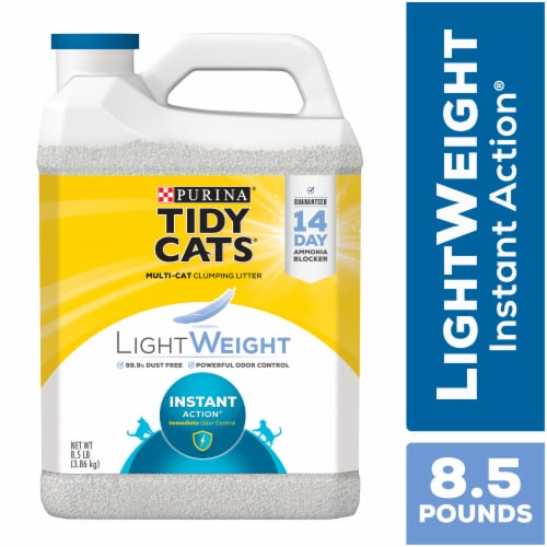Tidy Cats LightWeight Instant Action Dust Free Clumping Multi Cat Litter Perspective: front