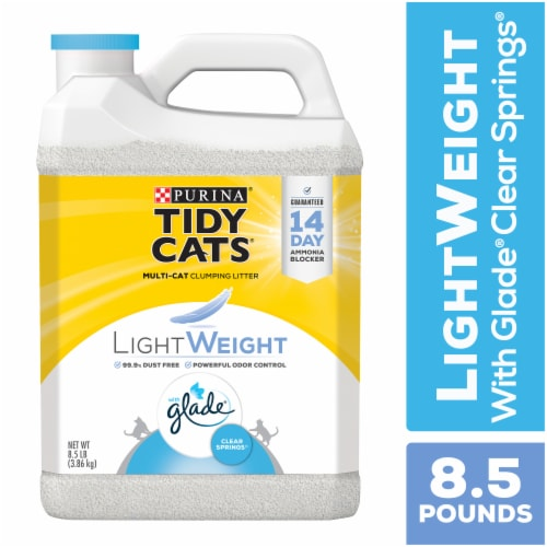 Tidy Cats LightWeight Glade Clear Springs Clumping Multi-Cat Litter Perspective: front
