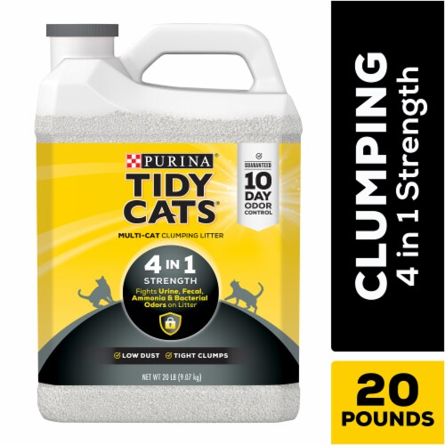 Tidy Cats 4-in-1 Strength Clumping Multi-Cat Litter Perspective: front