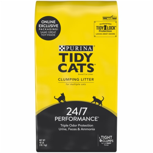 Purina Tidy Cats Multiple Cat Clumping Litter Perspective: front