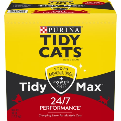 Purina Tidy Cats Tidy Max Multiple Cat Clumping Litter Perspective: front