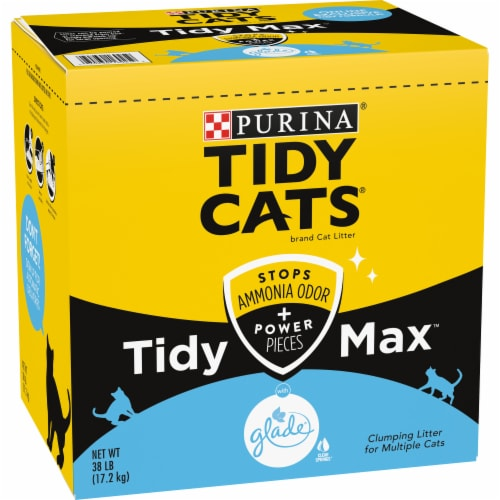 Purina Tidy Cats Tidy Max with Glade Multiple Cat Clumping Litter Perspective: front