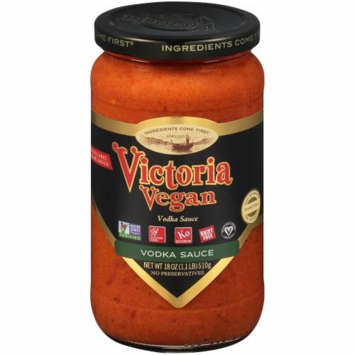 Victoria Vegan Original Vodka Sauce Perspective: front