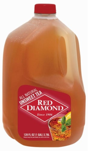 Red Diamond Unsweetened Iced Tea Perspective: front