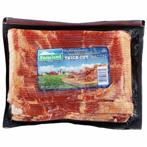 Farmland Thick Cut Bacon Perspective: front