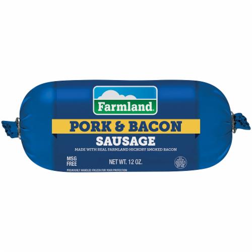 Farmland® Pork & Bacon Sausage Roll Perspective: front