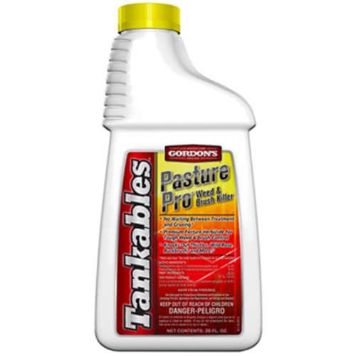 Tankables 8111320 Pasture Pro Weed & Brush Killer - 20 oz., Pack of 6 Perspective: front