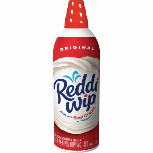 Reddi Wip Original Dairy Whipped Topping Perspective: front