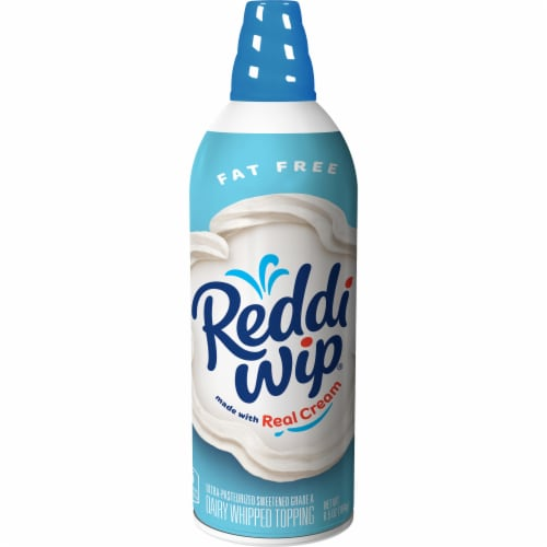 Reddi Wip Fat Free Dairy Whipped Topping Perspective: front
