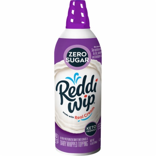 Reddi Wip® Zero Sugar Whipped Topping Perspective: front