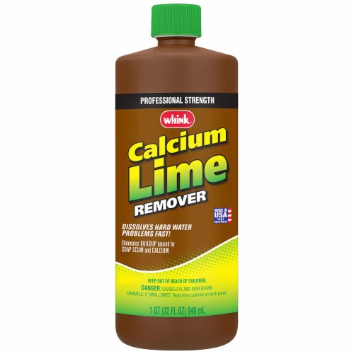 Whink 35232 Calcium Lime Remover 32oz bottle Perspective: front
