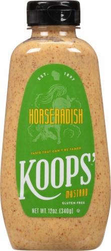 Koops Horseradish Mustard Perspective: front
