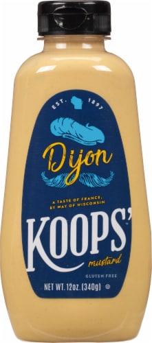 Koop's Squeeze Dijon Mustard Perspective: front