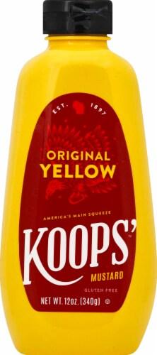Koops' Sqeeze Original Yellow Mustard Perspective: front