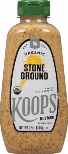 Koops' Organic Stone Ground Mustard Perspective: front