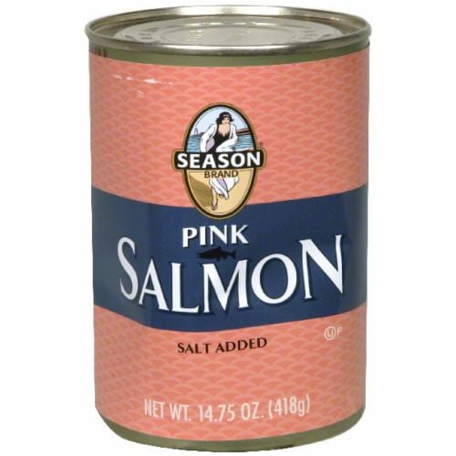 Season Brand Pink Salmon Perspective: front