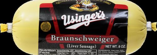 Usinger's Milwaukee Braunschweiger Perspective: front