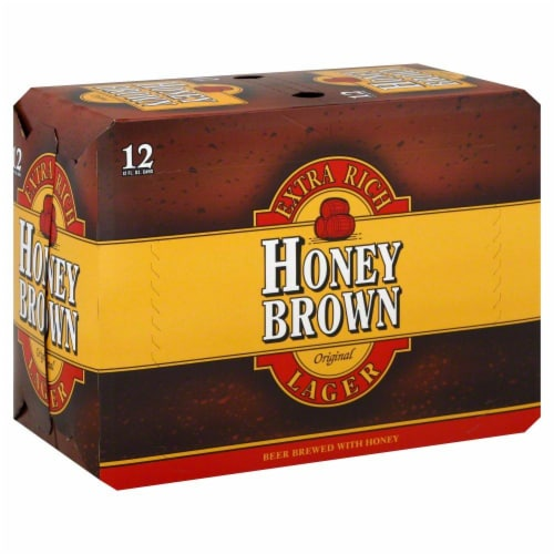Dundee Brewing Honey Brown Lager Perspective: front