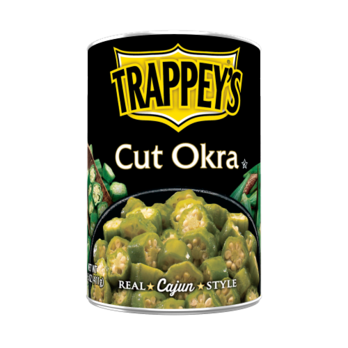 Trappey's Cut Okra Perspective: front