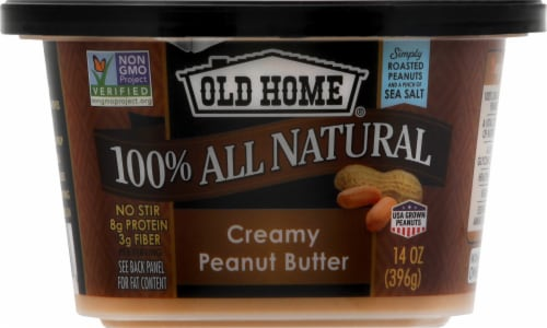 Old Home Creamy Peanut Butter Perspective: front