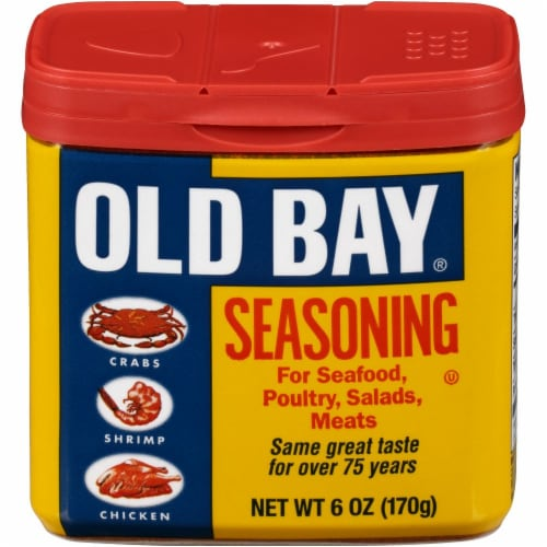 Old Bay Seasoning Perspective: front