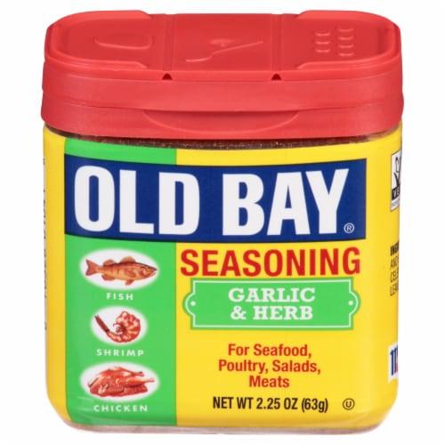 Old Bay Garlic & Herb Seasoning Perspective: front