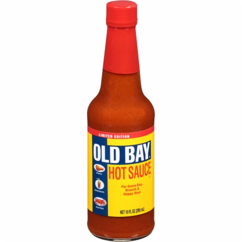Old Bay Hot Sauce Perspective: front