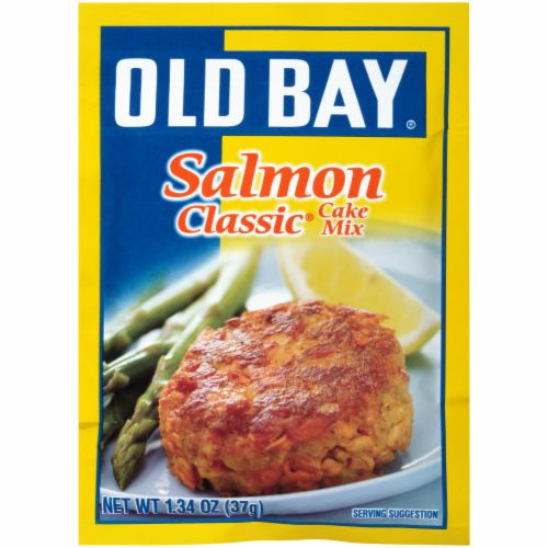 Old Bay Salmon Classic Cake Mix Perspective: front