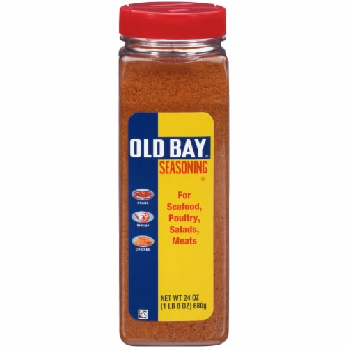 Old Bay Seafood Seasoning Perspective: front