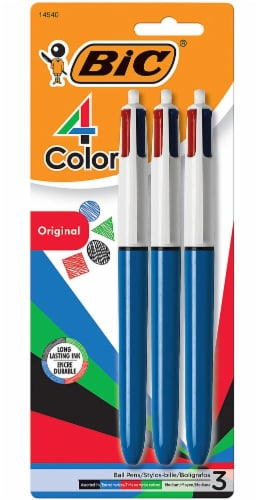 BIC Original 4 Color Ball Pens - Assorted Perspective: front