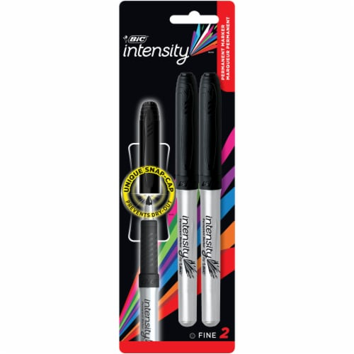 BIC Intensity Fine Point Permanent Marker - Black Perspective: front