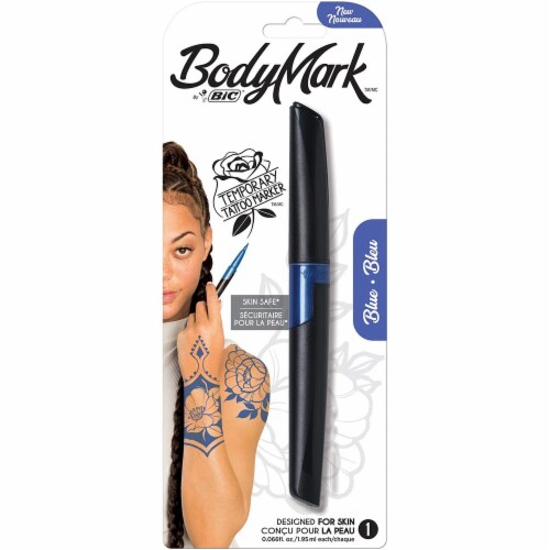 BIC Tattoo Body Marker - Blue Perspective: front