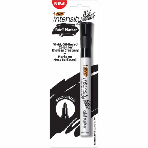 BIC Intensity Paint Marker - Black Perspective: front