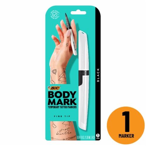 BIC BodyMark Temporary Tattoo Marker - Black Perspective: front